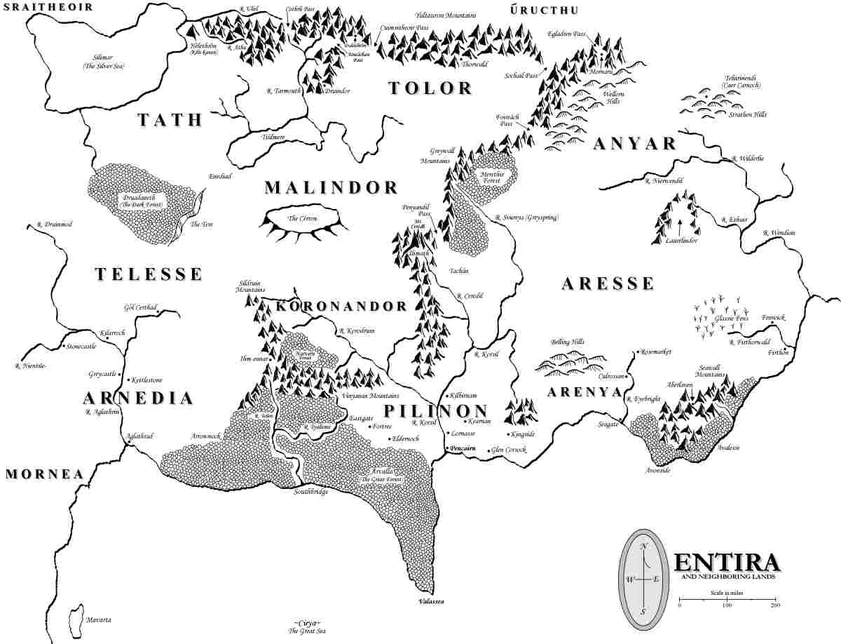 The Sarnaethian Trilogy